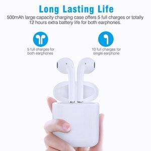 Image 5 - Nuevo i9S TWS Mini Bluetooth auriculares estéreo Auriculares auriculares inalámbricos para iphone Android
