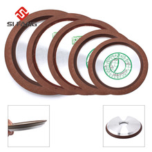 Quality  4~6 100mm/125mm/150mm Diamond Grinding Wheel Resin Bonded Disc Carbide Milling Cutter Power Tool 150-320Grit