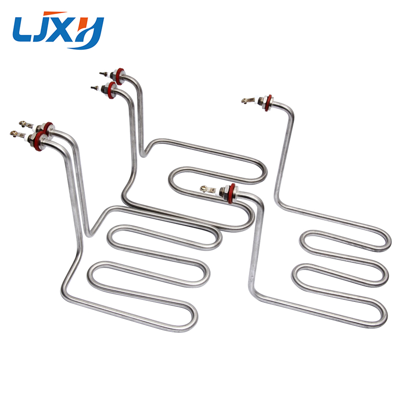 LJXH Electric Heating Element Heater Pipe 220V Power 2.5KW/3KW 201/304SUS for Electric Skillets/Electric Deep Fryers Frying Pan(China)
