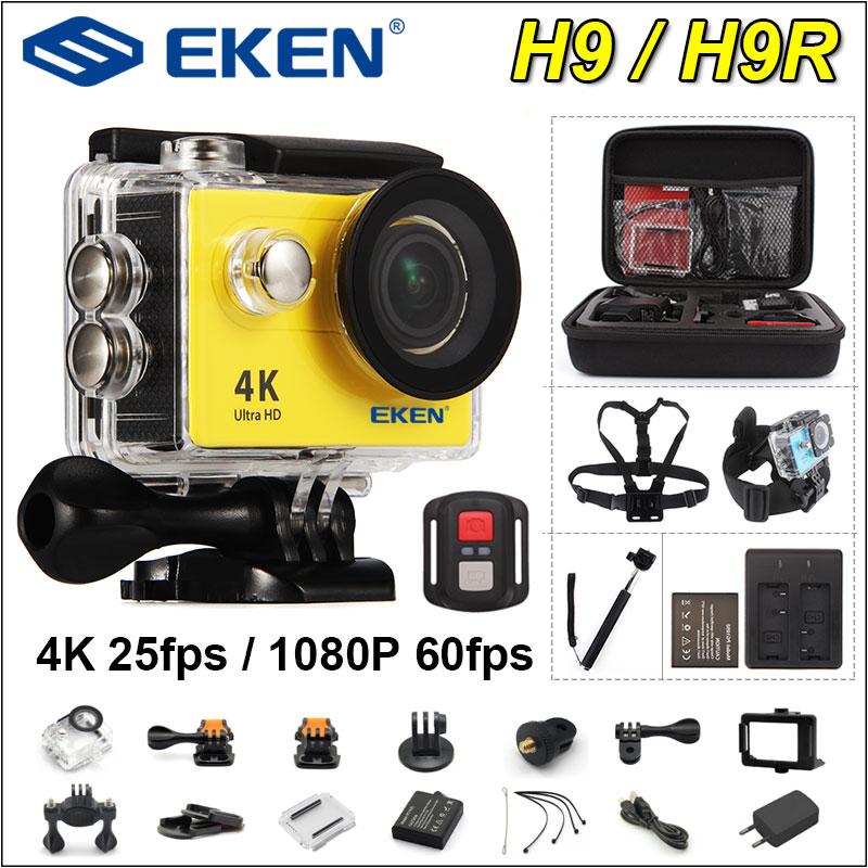 In Inventory ! Eken H9R H9 Extremely Hd 4K Motion Digicam 30M Waterproof 1080P Video Recording Sport Digicam 2.0' Display screen Helmet Cam