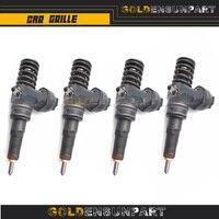4 Pcs Remanufactured Fuel Injector For VW Passat Audi Skoda 1.9 TDI Bosch Diesel 038130073BA CD