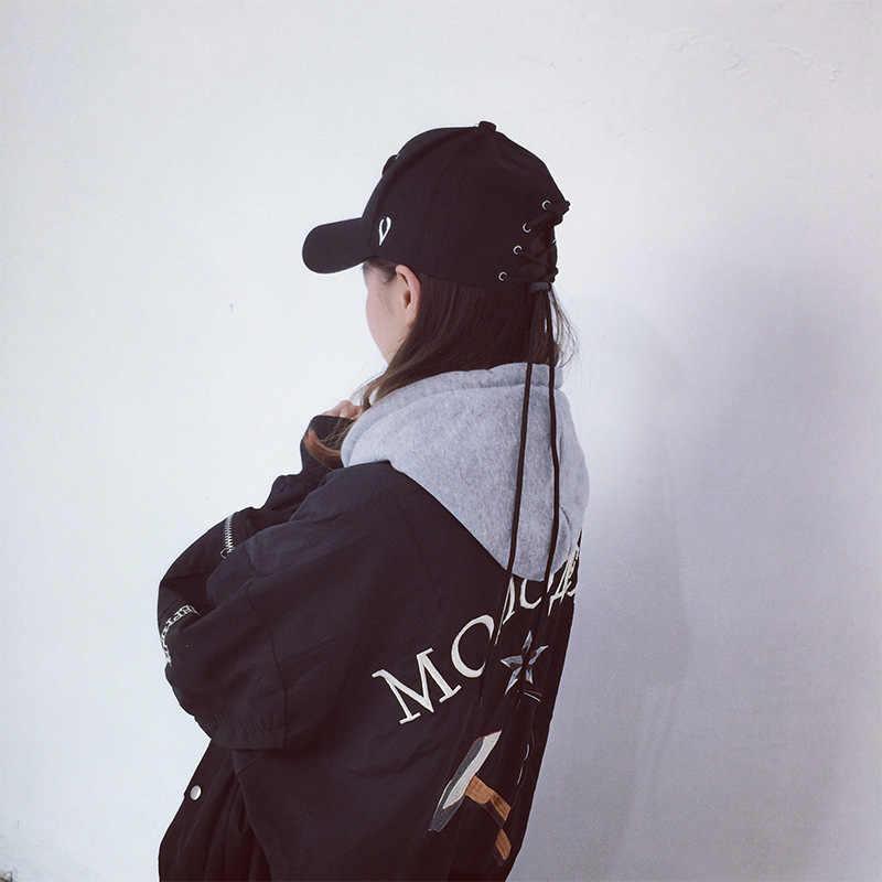 秋の新パターン靴紐人格の男ハンチングハン Banchao 女性無地野球帽帽子学生愛好家の帽子