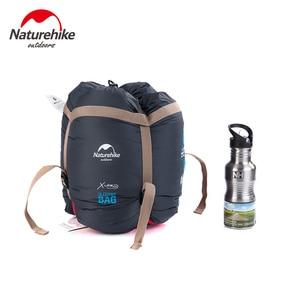 Image 5 - NatureHike 販売活動価格 0 〜 5 度冬のミイラの寝袋キャンプハイキング旅行することができますジッパー一緒に