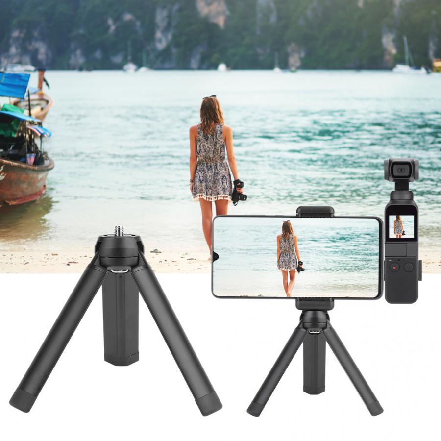 Gematigd Mini Camera Statief Base Stand Drie Voeten Suport Stabilizer 1/4 Inch Schroef Voor Osmo Mobiele Hot Koop Met Traditionele Methoden