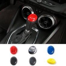 SHINEKA Auto Styling ABS Getriebe Panel Trim Schalthebel Dekoration Abdeckung Kappe Innen Zubehör für Chevrolet Camaro 2017 +