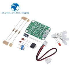 TZT DIY Kit Touch LED Light Kit Touch Delay Lamp Electronic Parts Production Kit DC 5V adjustable 3s to 130s Adjustable