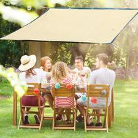 2*3/2*4/2*5m Sun Shade Net Khaki 6 Pin Encryption Edging Balcony Home Insulation Sunscreen Net Meaty Shade Network