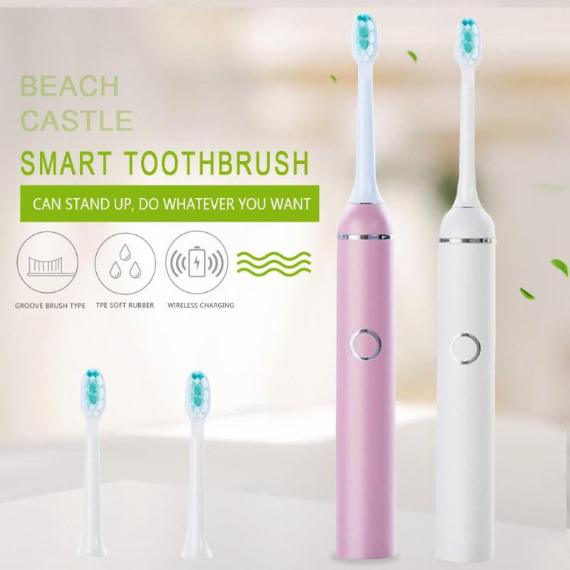 Sonic Induction Electric Toothbrush Adult Brush Waterproof Wireless Charge 5 Modes Tooth Brushes 2019 toothbrushSonic Induction Electric Toothbrush Adult Brush Waterproof Wireless Charge 5 Modes Tooth Brushes 2019 toothbrush
