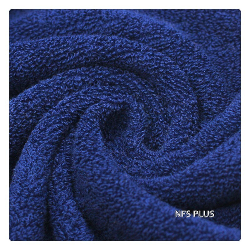 Image 5 - 100% Cotton Towel Set for Bathroom 2 Hand Face Towel 1 Bath Towel for Adults 3 Solid Colors Terry Washcloth Sports Travel Towels-in Towel Sets from Home & Garden