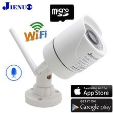 Cámara Ip CCTV 1080P 960P 720P, Wifi, infrarroja, Bullet waterproo, vigilancia inalámbrica para el hogar, vídeo de seguridad, ipcam, Audio H.264, JIENU