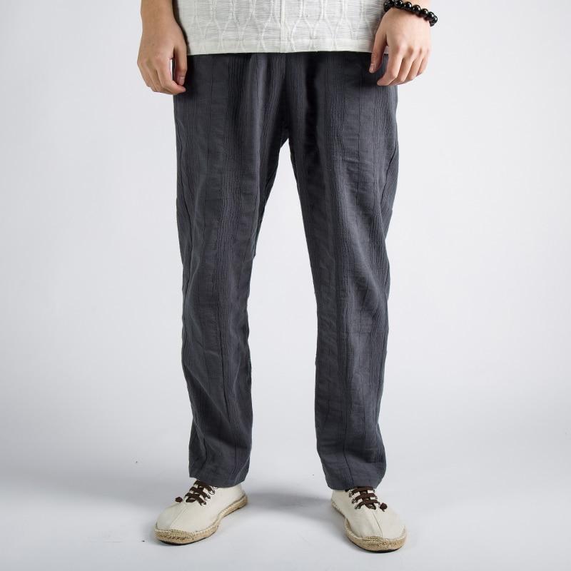 Begeistert Männer Hosen 2019 Frühling Und Herbst Neue Chinesische Hosen Baumwolle Und Jacquard Casual Hosen Jugend Männer Kleidung