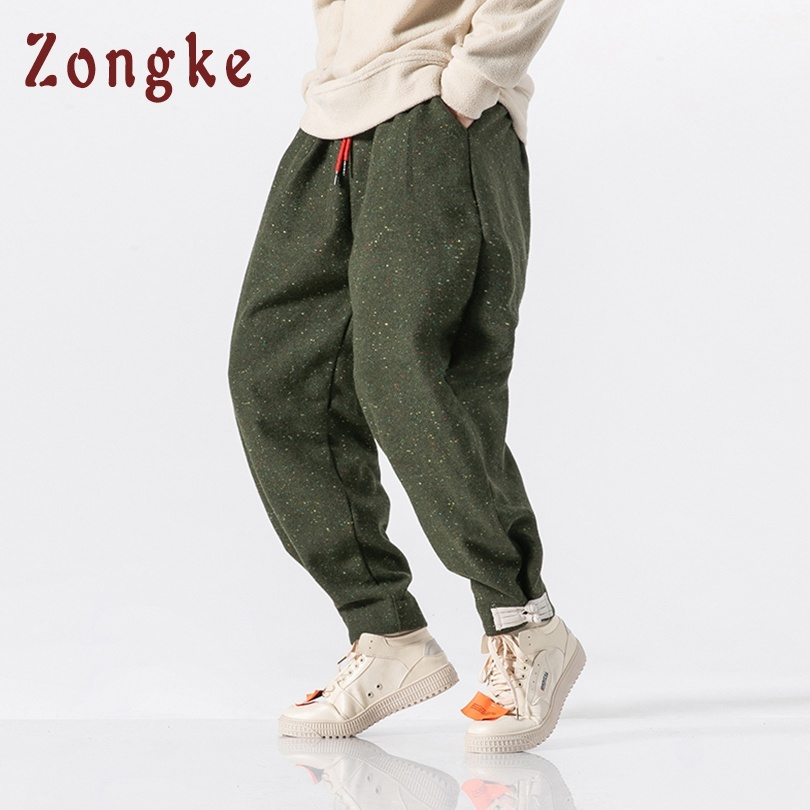 Men's Clothing Zongke Chinese Style Denim Pants Men Joggers Streetwear Trousers Men Pants Hip Hop Harem Pants Men Jogger 5xl 2019 Freeshopping Easy To Use