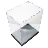 Transparent Dustproof Display Case Box Toy Acrylic Showing Box For Figures Models Plastic DIY Building Kits Toys For Children