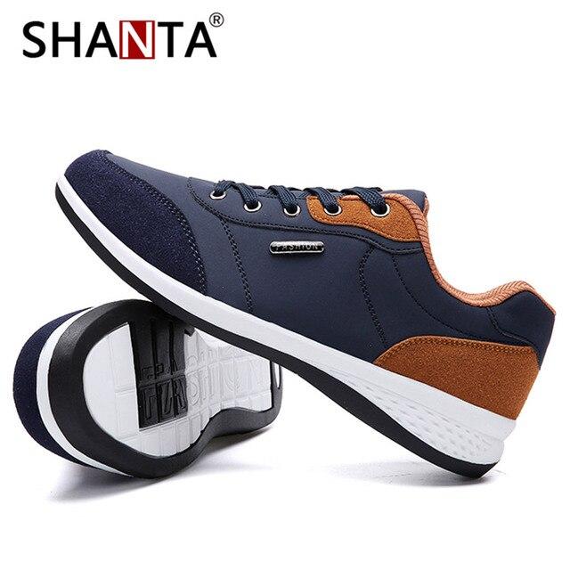 2019 Homens da Mola Sapatos New Lace-Up Sapatos De Couro Homens Sapatos Casuais Sapatos de Homem Moda de Microfibra Preto Branco Dos Homens Ao Ar Livre das Sapatilhas