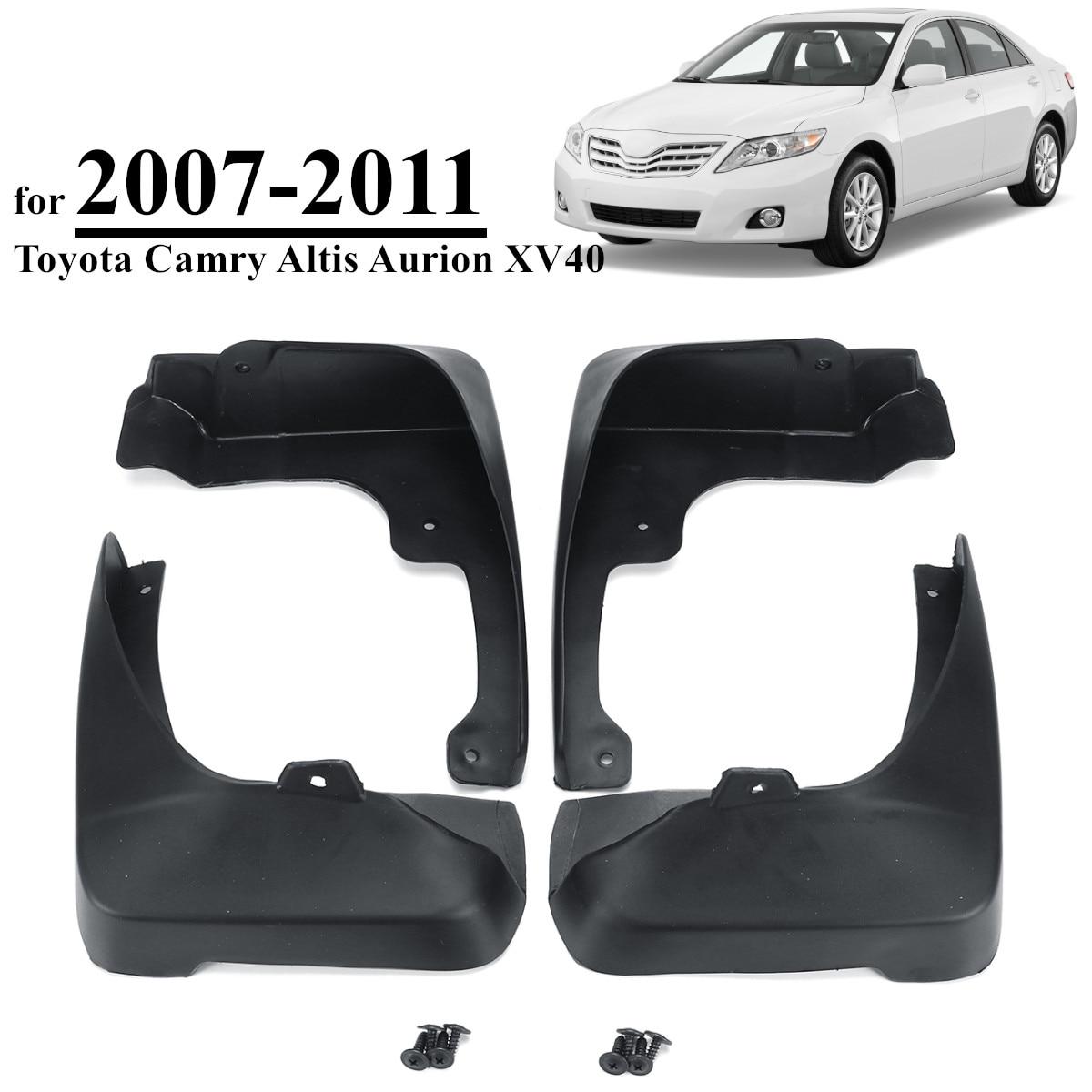 Para Toyota Camry Altis Aurion XV40 2007-2011 guardabarros de coche guardabarros bengalas guardabarros de salpicaduras