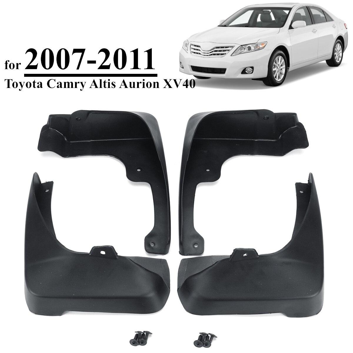 Voor Toyota Camry Altis Aurion XV40 2007-2011 Auto Spatlappen Wielkasten Spatborden Spatlappen Splash Guards