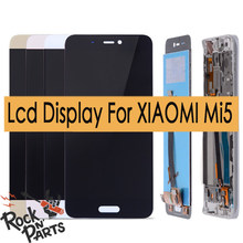 LCD Display with Touch Screen Digitizer Assembly for xiaomi mi 5 mi5 Replacement Parts(China)