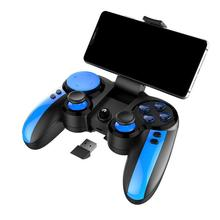 Wireless Bluetooth 4.0 Game Gamepad PG-9090 Integrated Pull Rod Telescopic Joystick For Android Smartphone Windows PC Controller gamesir t1s 2 4ghz wireless bluetooth gamepad joystick for android windows ps3 game controller smartphone pk 8bitdo sf30 pro