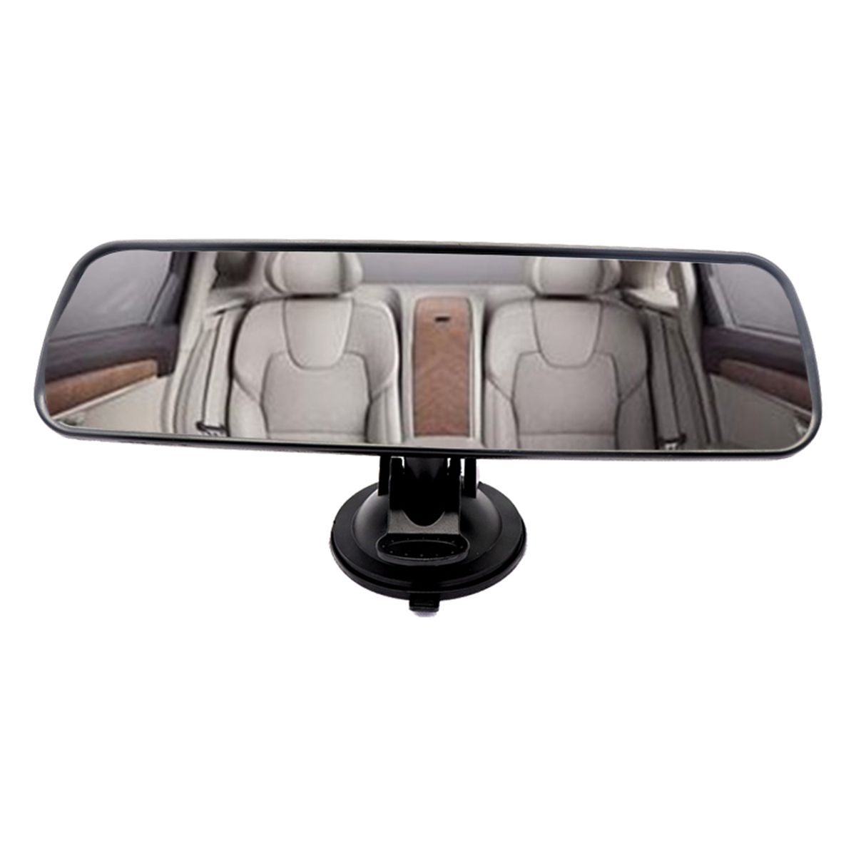 Universal Car Interior Rear View Mirror Suction Cup Wide