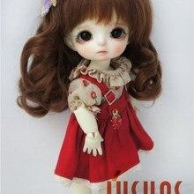 D20313 1/8 BJD мохер парик красивые вьющиеся кукольные Волосы Принцесса длинные вьющиеся парики 5-6 дюймов кукла аксессуары