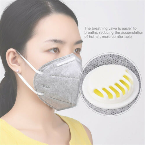 5Pcs Lot Activated Carbon Anti-smog Dust-proof KN95 Respirator Protective Mask Disposable Respirator Mask