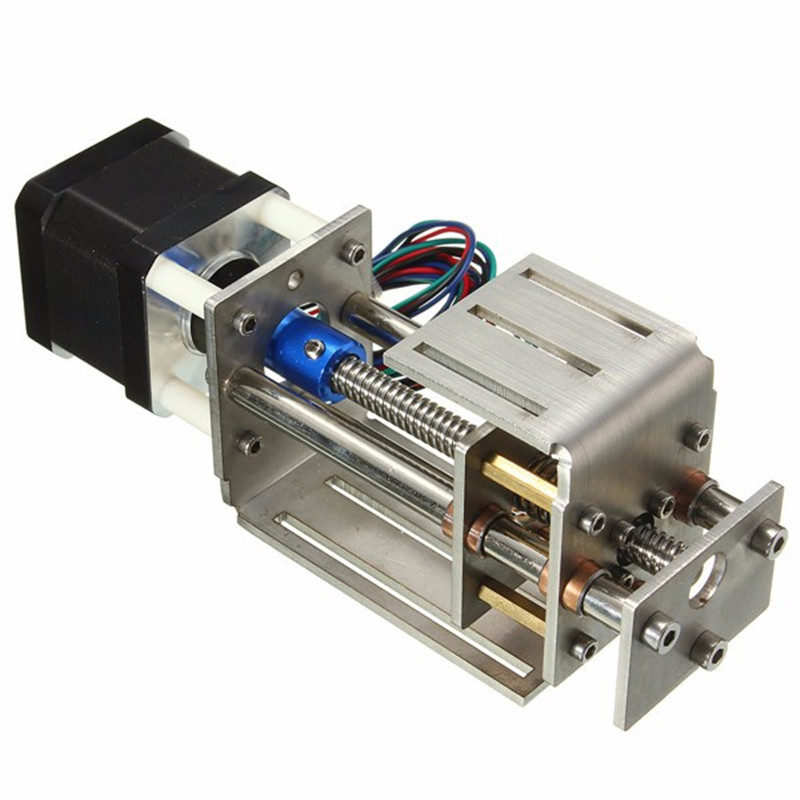 CNC Z Axis Slide Table 50-60mm Adjustable DIY Milling Linear Motion For 3 Axis CNC Engraving Machine Mount Printer Replace Part