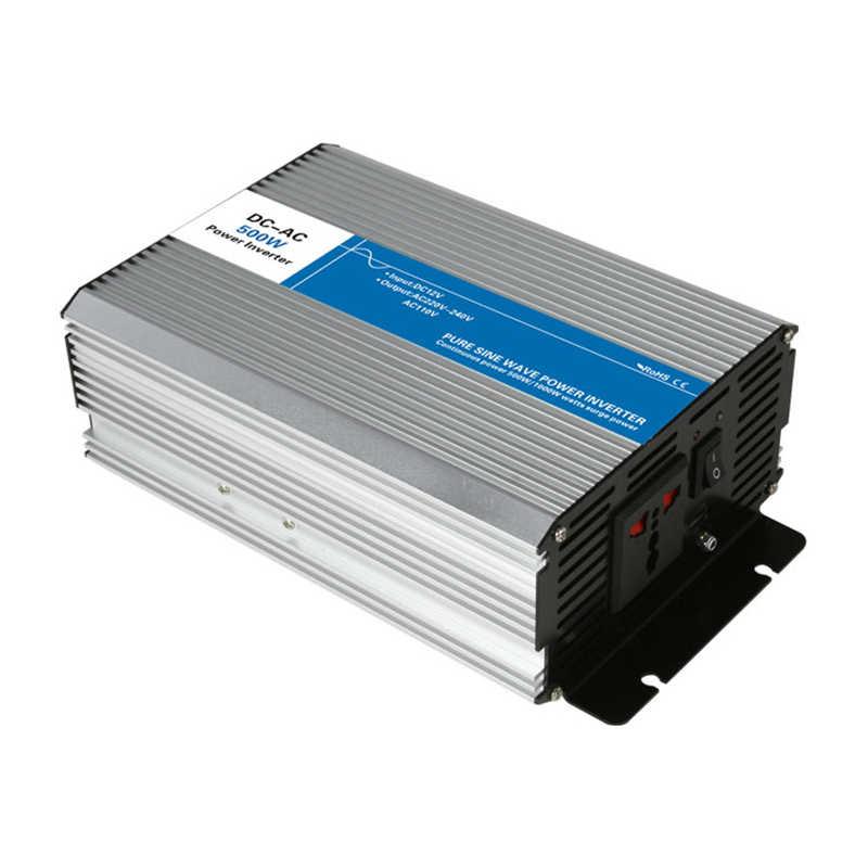 Inversor de onda sinusoidal pura 500 w DC 12 V/24 V/48 V a CA 110 V/ circuitos de inversor de energía tronic de 220 V con lazo fuera de red barato 12 24 48 V