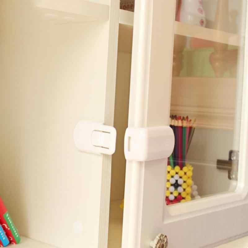 Замок безопасности пластиковый шкаф дверной замок для безопасности ребенка защитные замки стол угловой край Защитная крышка