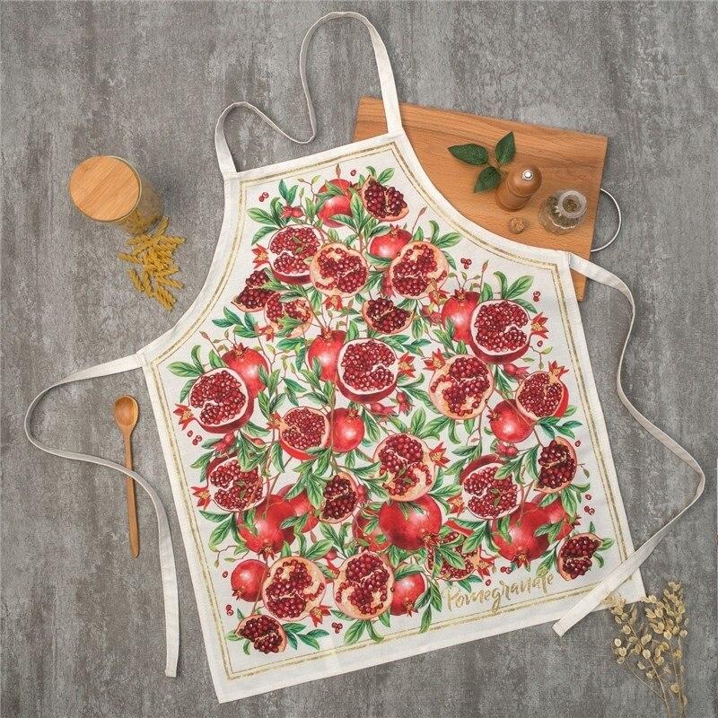 Apron Ethel Grenade 60х70 cm cm, 100% CHL, twill 190 C/m2 4136516 table cloth round ethel rose d 160 cm 100