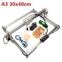 A3 DIY Laser Engraver Engraving Cutting Cutter Printer Machine Wood Router 30x40cm Engraving Area Laser Engraver Assembling Kit