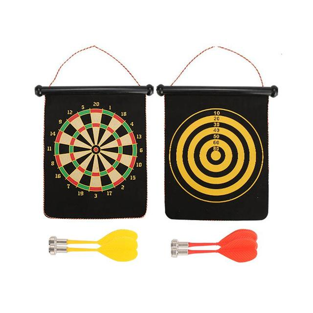 Magnetic Dartboard Set, Safe & Easy to Use