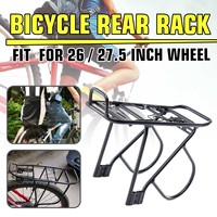 Bicycle Rear Rack Aluminum Alloy Bicycle Rear Carrier 37x13.5cm Bicycle Luggage Carriers Cargo Rear Rack Bike Luggage Rack