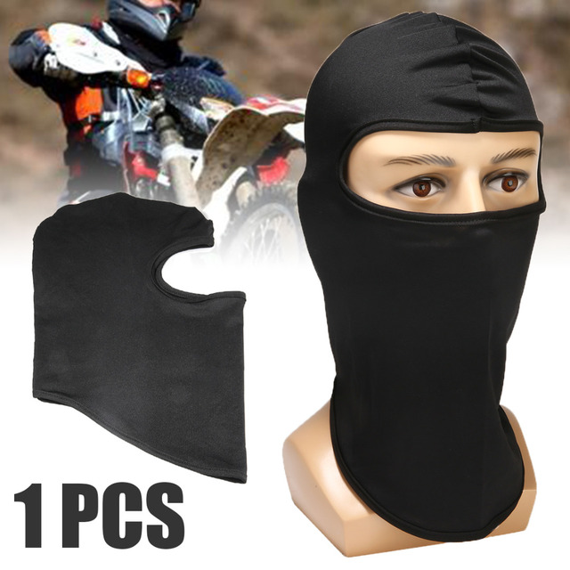 Ultra-thin Motorcycle Lycra Balaclava Ski Full Face Mask Cycling Neck Protect Wear Accessories 1