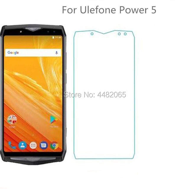 Front Tempered Glass For <font><b>Ulefone</b></font> <font><b>Power</b></font> <font><b>5</b></font> <font><b>Screen</b></font> Protector Transparent Protective Film For <font><b>Ulefone</b></font> <font><b>Power</b></font> 5S Phone Glass Safety image