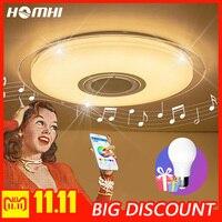 Звездсветодио дный ный светодиодный Bluetooth музыкальный потолочный светильник для гостиной спальни свет заподлицо потолочный светильник с п