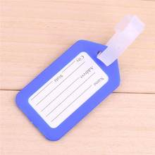 New Office Address Name ID Label Plastic Travel Suitcase Baggage Luggage Bag Tag(China)