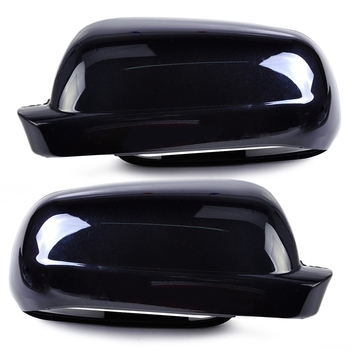1 Pair Black Right + Left Rearview Wing Mirror Cover Case Cap For V w Golf Mk4 Passat B5 1998-2005 J e t t a 2001 2002 2003 2004