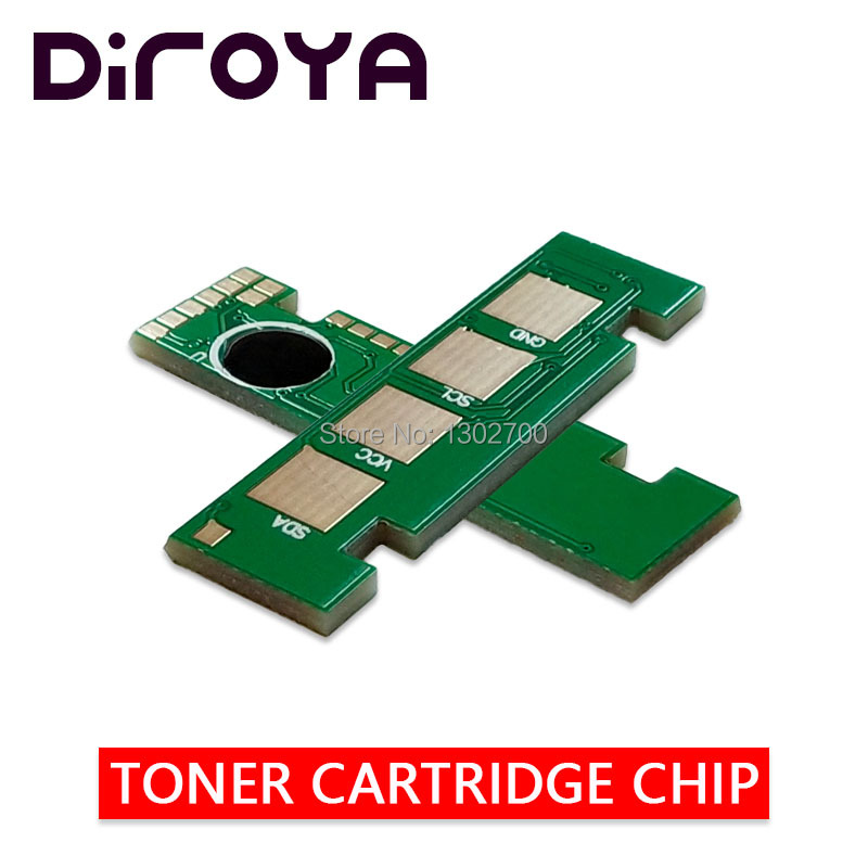 10PCS MLT D204U MLT D204U toner cartridge chip for samsung ProXpress M4025ND M4025 4025NX M4075FR M4075