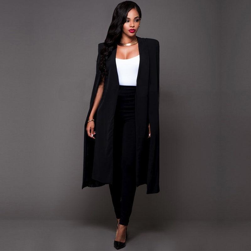 Spring Autumn Coat Female Extra Long Wide Trench Coat Fashion Women 2017 New Warm Cotton European White Black S M L XL