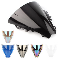 Motorcycle ABS  Double Bubble Windshield Windscreen for Yamaha YZF R6 600 2006 2007 06 07
