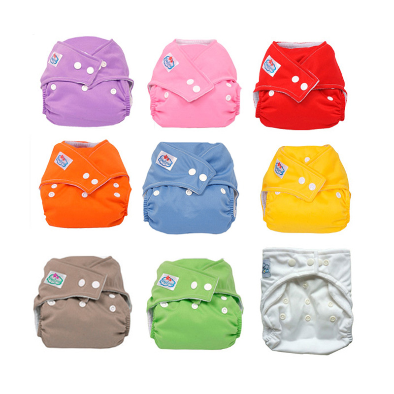 New Baby 9 Colors Washable Cloth Babyland Diaper Nappy  YJS Dropship