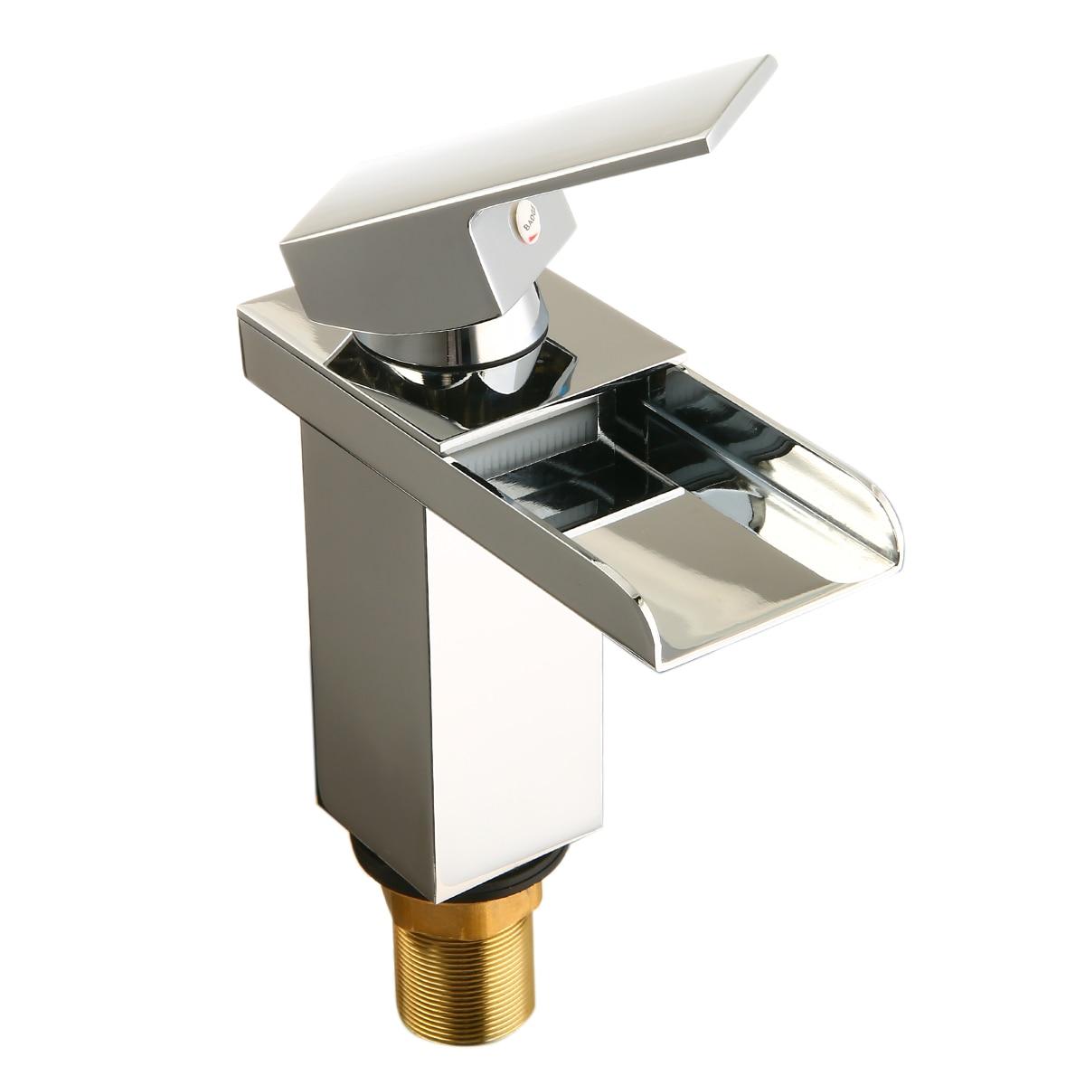 Aliexpress.com : Buy Bathroom Waterfall Faucet Waterfall ...
