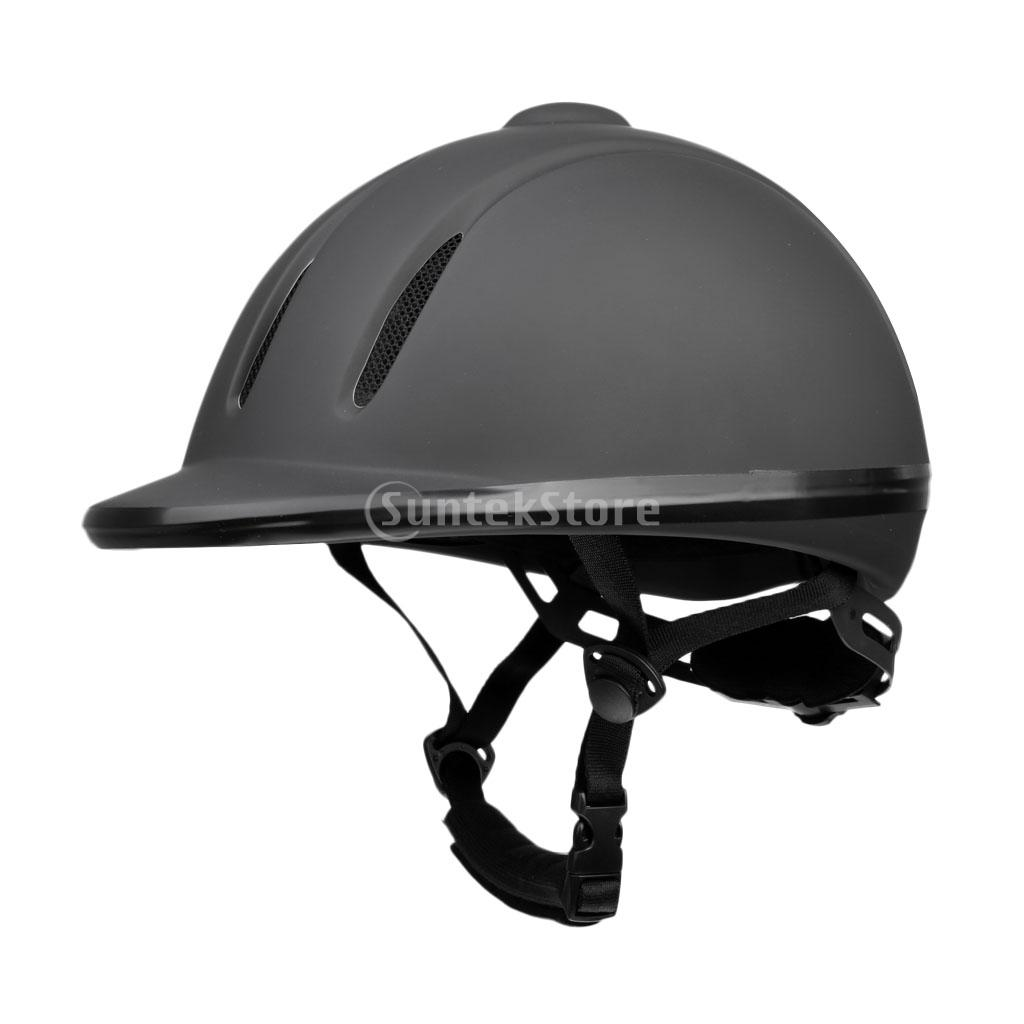 Lightweight Ventilated Adjustable Safety Horse Riding Hat/ Helmet Equestrian Protective Gear S/M/L/XL Black s m s l m6 15118335 усилитель для наушников black