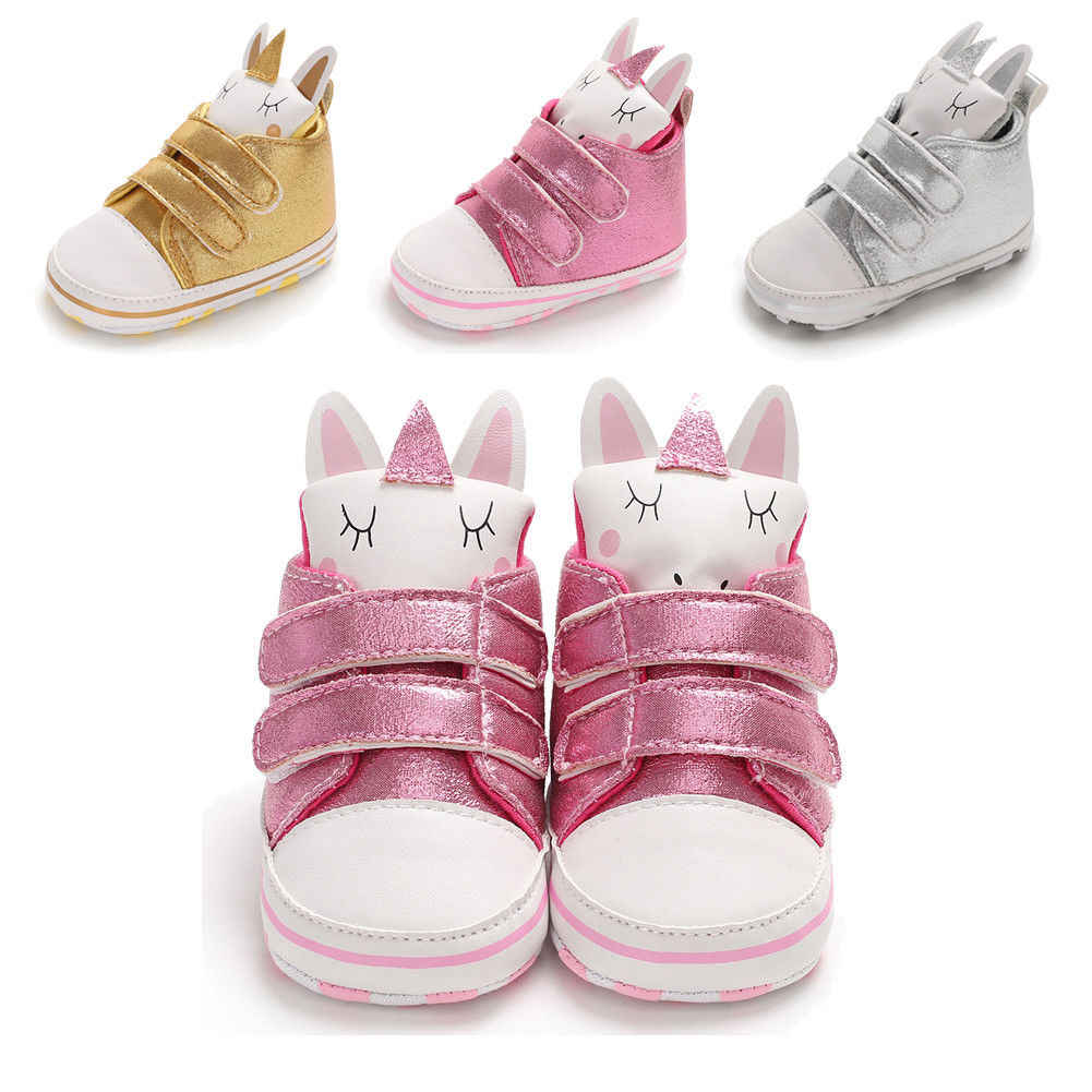 085ee0def42e5 Fashion Sequn Animal Infant Baby Boys Girls Soft Sole Crib Newborn Non-slip  Shoes Sneaker 0-18 Months