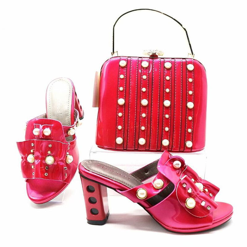 GL-322 ROSE COLOR italian shoes and bag set african aso ebi lace party stones shoes and bag set все цены