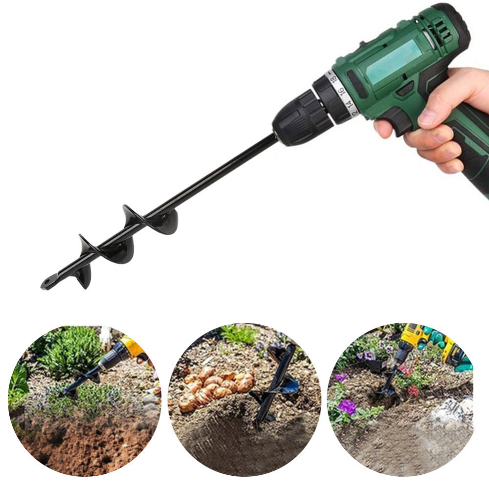 Auger Bit Outdoor Accessories Echo Engine Drill 24 In Long Earth Steel Fast Easy