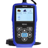 New Car Portable Diagnosis NEXAS NL102 OBD/EOBD Code Reader Diagnostic Scan Tool For Car And Heavy Duty Truck 2 In 1 Scan Tool