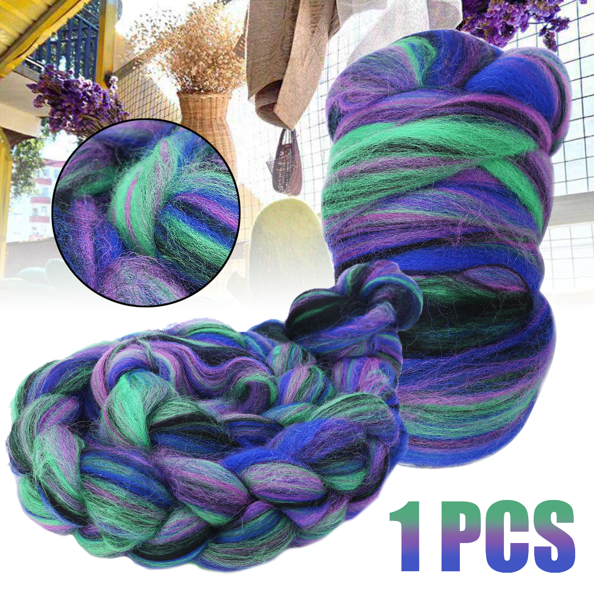 Planet Earth FIBER-100/% Merino WOOL-18-COLOR-040-SUNSHINE-THIS Listing is for 1 Skein