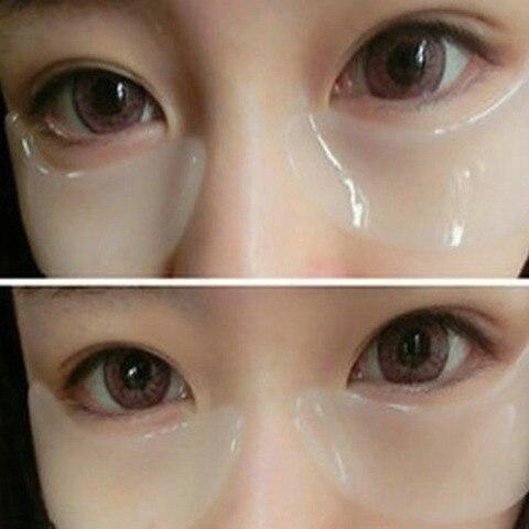 Col geno m scara de olho colar 60 pares de sacos de olho para desaparecer