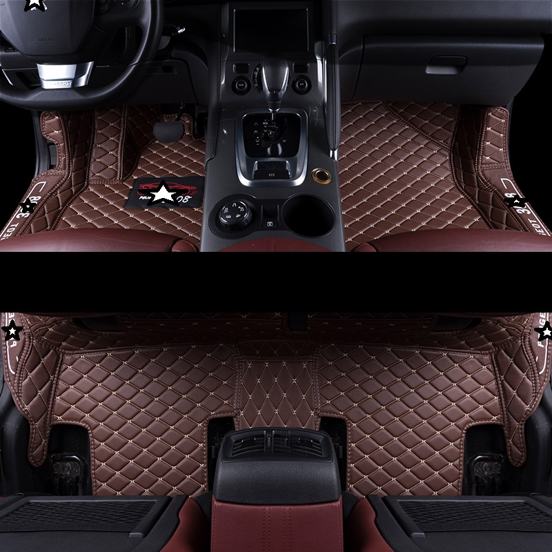 Decoration Mouldings Protector Automobile Modification Auto Styling Parts Modified Carpet Car Floor Mats FOR Peugeot 3008 in Floor Mats from Automobiles Motorcycles